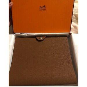 Hermes Ulysse PM Brown Leather Agenda